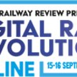 Digital Rail Revolution by Global Railway Review 15 – 16 September 2021 (UK) image