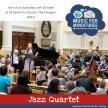 BATH - Jazz Quartet (our birthday concert - we'll be 5!!!!) image