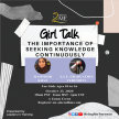 Girl Talk:  The Importance of Seeking Knowledge Continuously image