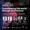 Live Webinar: #01Transforming the World Through Architecture image