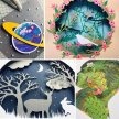 3D Layered Papercuts with Adriana Roberts [Ref#419] image