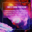 Living the Being - Day 2 Orientating Your Being image