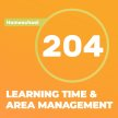 Homeschool 204: Learning Time and Area Management image