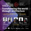 Live Webinar: #02Transforming the World Through Architecture image