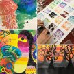 Art Course for Kids #2 Tuesdays with Sarah Moorcroft - 3 to 31 March 2020 [Ref #402] image