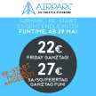 AIRPARC STUBAI TAGESTICKET - AIRPARC RE:START ANGEBOT image
