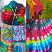 Spiral Tie-Dyed T-Shirts with Wendy Lloyd [Ref#408] image