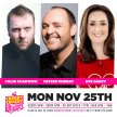 Cherry Comedy at Whelan's with Colin Chadwick & More! image