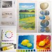 Acrylic Course for Beginners on Tuesdays with Karen Carter [Ref#413] image