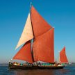 Thames Sailing Barge Victor Cruise - with the New Scorpion Band image