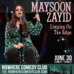 Maysoon Zayid: Limping on the Edge image