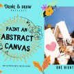 Drink & Paint Cork: Make An Abstract Canvas image