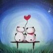 """Let's Paint """"Panda Love"""" - Online image"""