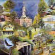 Gems of Wabash County Print by Penny French-Deal image