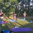 Yoga in the Woods image