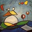 Let's Paint like Miró - Online image