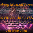 Full noise Musical Fireworks Display.  Fireworks at 7.30pm image