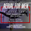 Aerial for Men 4 Week Term starts Tuesday 21 Jan 8pm - 9.30pm image