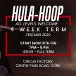 Hulahoop 4 Week Term Starts Monday 10th Feb 7pm - 8pm image