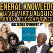 Tuesday General Knowledge Quiz (General Knowledge Every Monday, Tuesday and Wednesday at 8pm) image