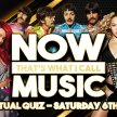 Now That's What I Call Music Live Virtual Quiz image