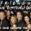 The Friends Virtual Live Quiz image