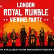 London Shoreditch Royal Rumble 2020 Viewing Party image