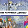 Drink & Draw: Starry Night Over Galway image