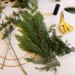 Foxy Buds Christmas Wreath Workshop Sat 7th Dec 4pm image