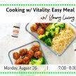 Cooking w/ Vitality: Easy Meal Prep & Healthy Lunches: image