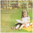 Outdoor Learning in the EYFS image