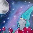 Paint & Sip! What the Gnome? at 7pm $29 UPLAND image