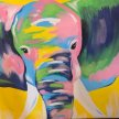 Paint & Sip!Pop Art Elephant at 3pm $23 Upland image