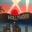Paint & Sip! Hollywood at 7pm $39 image