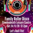 Family Roller Disco-Cowdenbeath Leisure Centre image