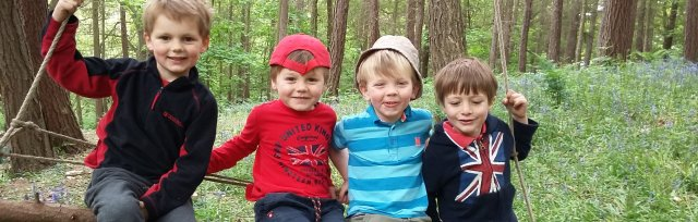Ilkley Easter Forest School: 5-11 year olds
