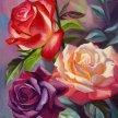 Vino & Van Gogh - Cuenca Roses image