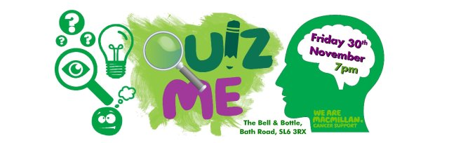 Quiz Night in aid of Macmillan Cancer Support