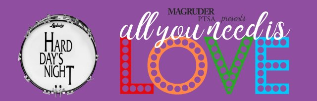 ALL YOU NEED IS LOVE:  Hard Day's Night at Magruder HS auditorim 7-9 pm