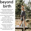 Beyond Birth, A Luxury Workshop Preparing Expectant Parents for the Fourth Trimester image
