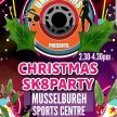Christmas SK8 Party, Family Roller Disco- Musselburgh Sports Centre image