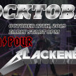 ROCKTOBER DOWNPOUR(AC/DC) AND BLACKENED (METALLICA) image