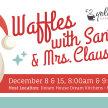 Waffles with Santa & Mrs. Claus image