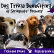 Dog Trivia Benefiting SSD at SpringGate Brewery image