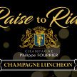 """Raise to Ride"" Champagne Philippe Fourrier Luncheon image"