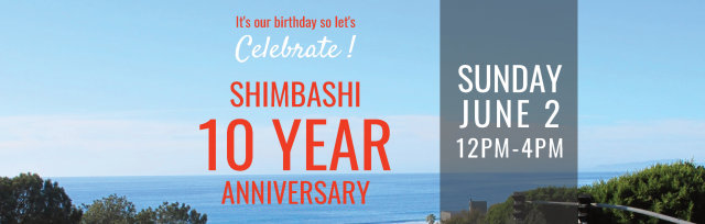 Shimbashi Izakaya 10 Year Anniversary Celebration