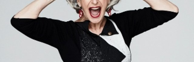 MAUREEN LIPMAN is UP FOR IT