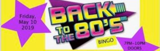 Back to the 80's Designer Bag Bingo presented by St. Mary of the Lakes PTA