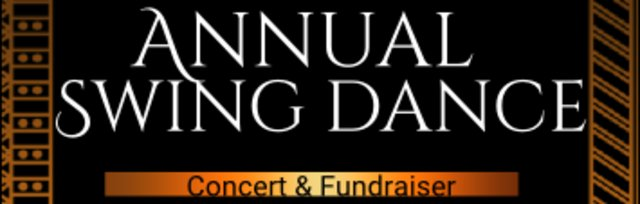 Annual Swing Dance Concert & Fundraiser