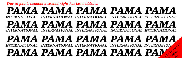 Pama Intl live at London's legendary Hope & Anchor / night 2